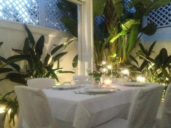 Ristorante Giannino : il tavolo che chiedono tutti.......