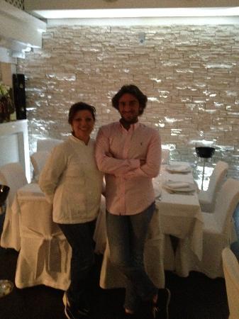 Ristorante Giannino : La chef Maria e il figlio