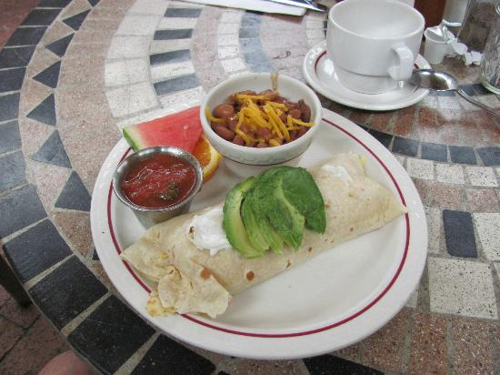 Ripplewood Resrt Restaurant : Breakfast Burrito