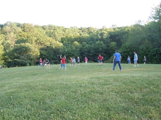 Rawhide Ranch: Frisbee fooball...