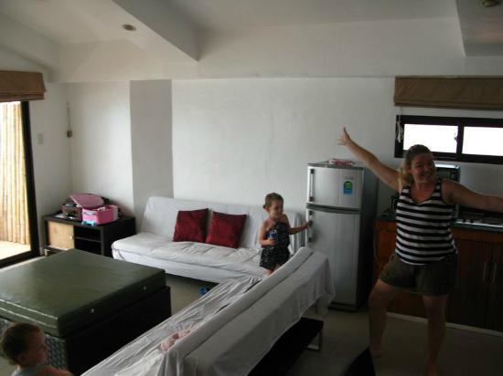 True Home Hotel, Boracay: Living