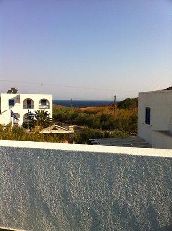 Glaronisia Hotel: vista al mar desde la terraza