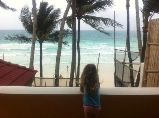 True Home Hotel, Boracay: our view