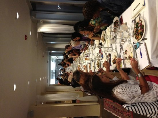 Inn at The Black Olive : Raw Food diner with Woody