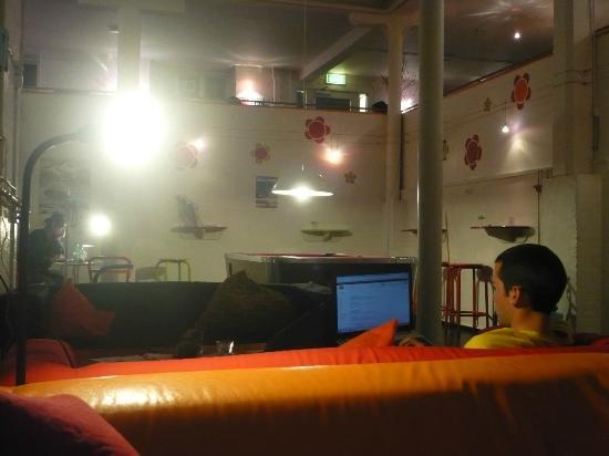 Sleep in Heaven: The lounge