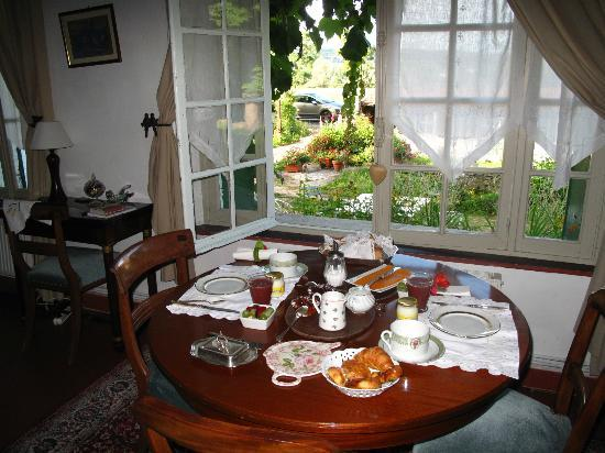 The Hermitage Bed & Breakfast: breakfast