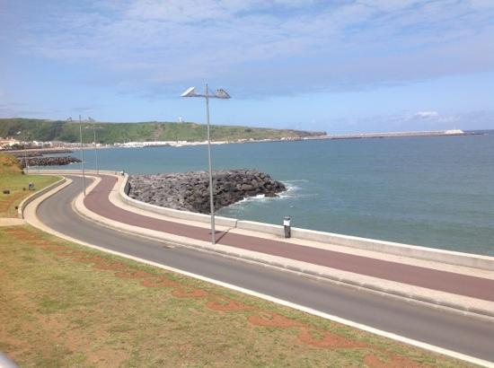 Atlântida Mar Hotel: view to Praia