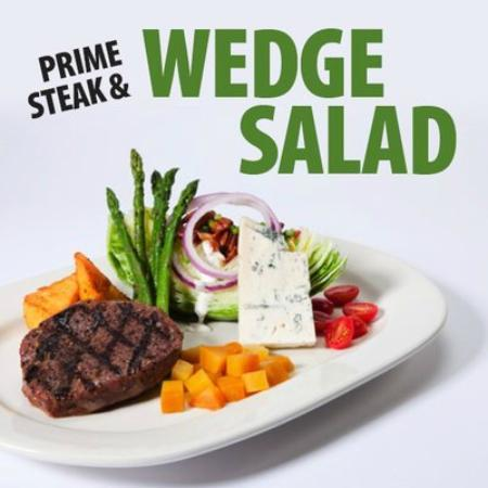 Houlihan's : Prime Steak & Wedge Salad
