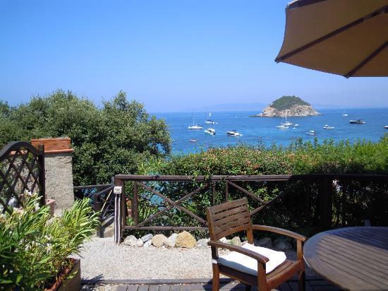 Punta Dei Barbari Residence: Il panorama dall'appartamento
