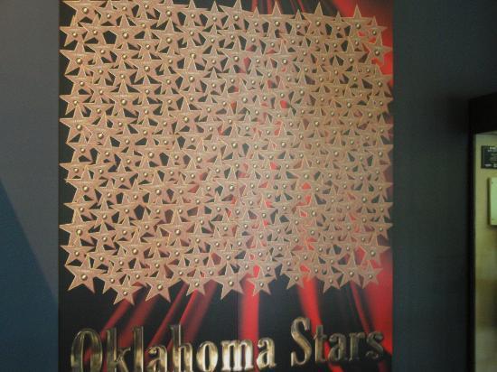 Oklahoma History Center: Oklahoma stars like the Hollywood Stars in California