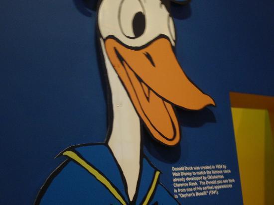 Oklahoma History Center: Donald Duck voice by Oklahoman Clarence Nash