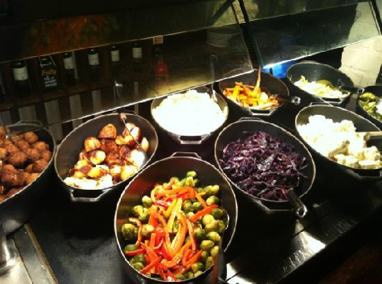 Fox & Pheasant: Vegetables on our Carvery