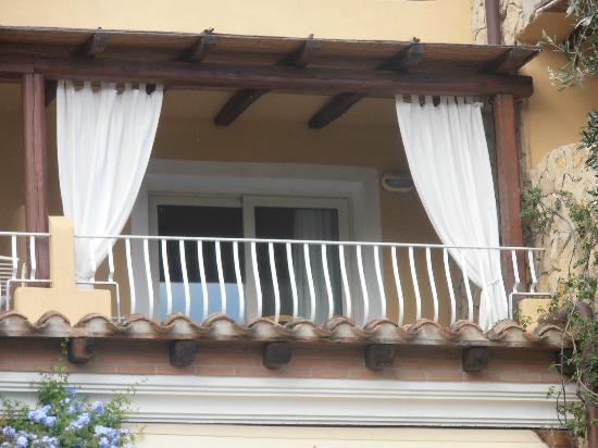 Boutique Hotel Su Sergenti : balcon de la chambre