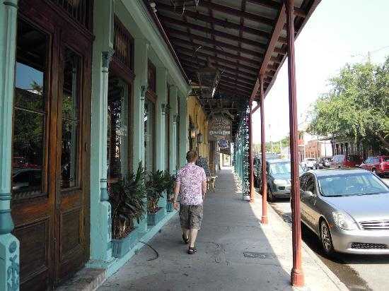 Seville Quarter: External