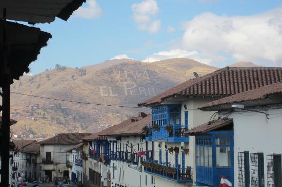 Hotel Costa Del Sol Ramada Cusco: Fron our balcony. Viva El Peru!