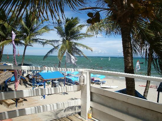 Hotel Windsurf Paradise: Vista do deck