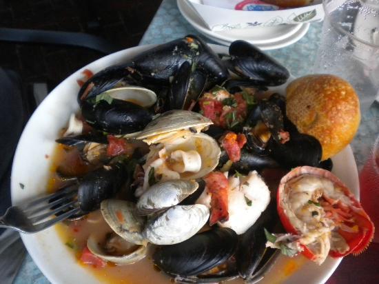 Lobster Sushi Roll - Picture of Legal Harborside, Boston - TripAdvisor