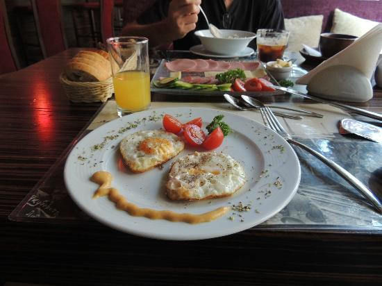 Breakfast at Hotel Liene restaurant