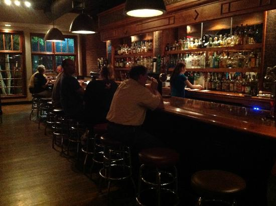 The bar at Conch and Bucket