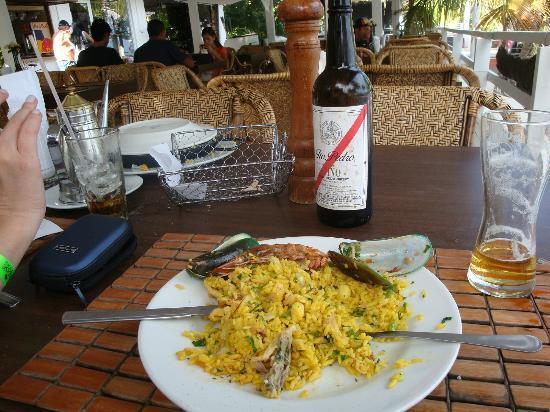 Hotel Windsurf Paradise: La Paella