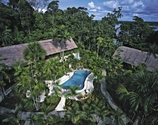 Amazon Explorama Lodges: aereal view from ceiba tops