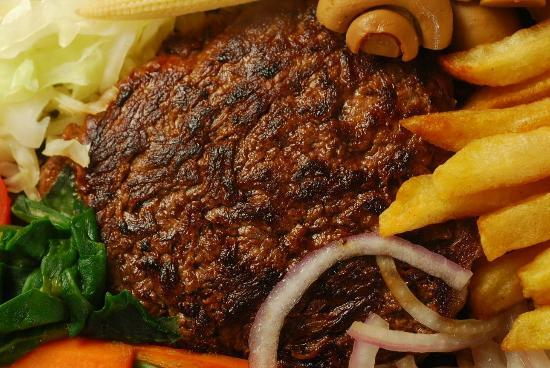 The Sizzle : TYSON'S PORTION - Soft and succulent grilled steak