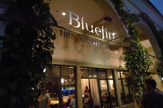 Bluefin Fine Anese Cuisine 外観
