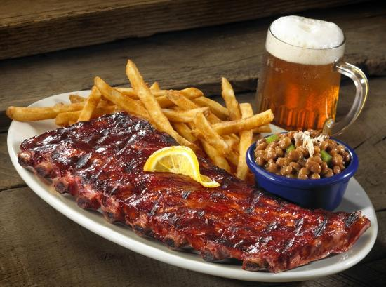 Red Hot Blue Rack Of Ribs