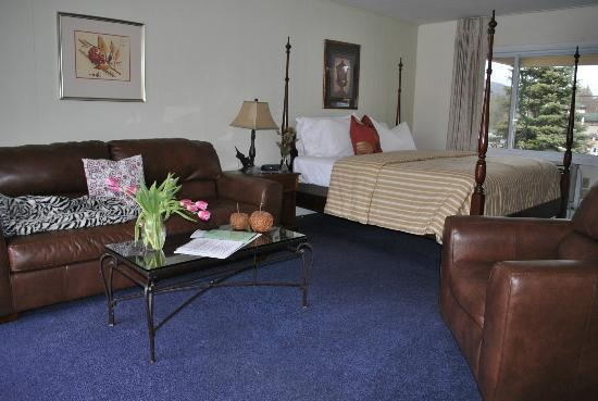 Gauthier's Saranac Lake Inn and Hotel: Kind Suite