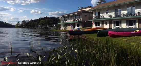 Gauthier S Saranac Lake Inn And Hotel Waterfront Boats