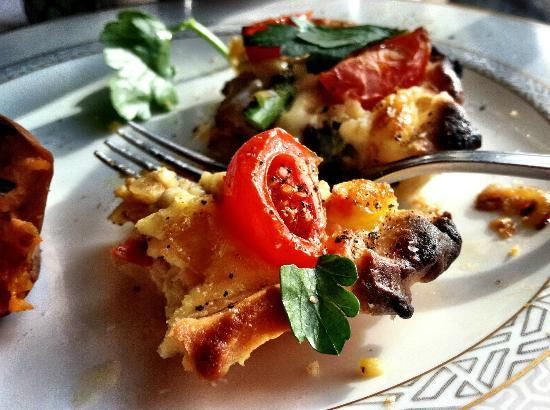 Vienna Restaurant & Historic Inn : Breakfast Quiche