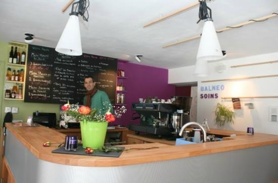 Oréade Restaurant et Balnéo : l'accueil