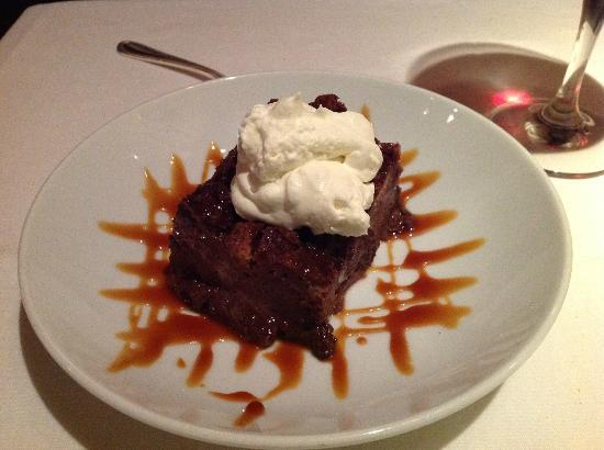 C & O Restaurant: Chocolate bread pudding