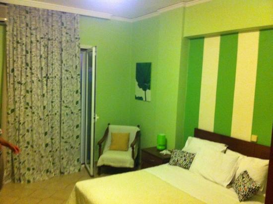Waterlily Hotel: Camera da letto.