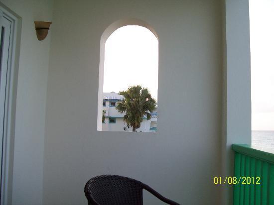 Rostrevor Hotel: At my balcony !