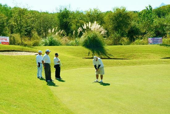 Ecovergel Hotel Boutique: Golf.