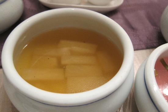 Yongsusan Taepyeongno Store: Hot Radish Soup
