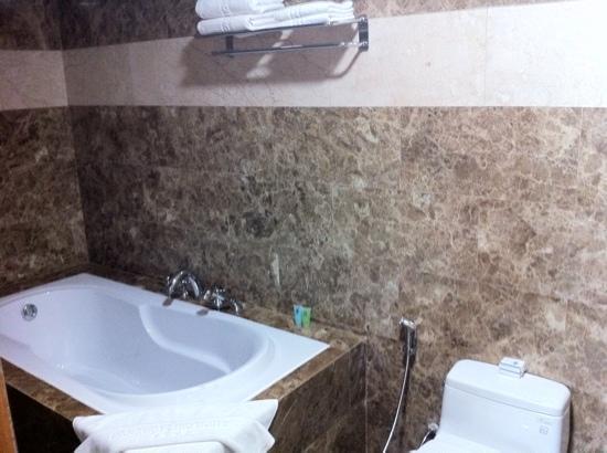 Danang Petro Hotel: bath room