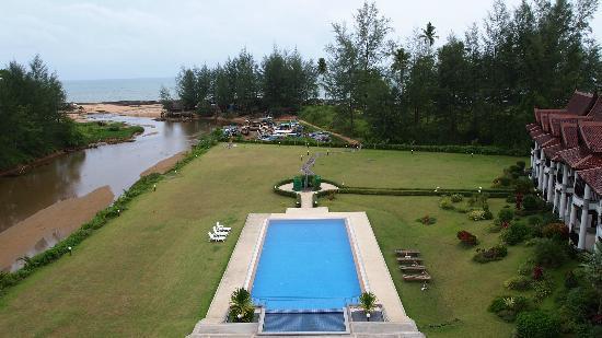 Khao Lak Riverside Resort & Spa: View from Spa