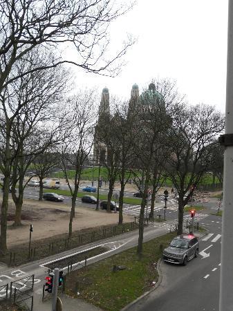 Hotel Frederiksborg: vista dalla finestra della stanza