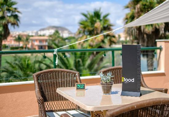 Easy Food En La Terraza Mirador Picture Of Hotel Alicante