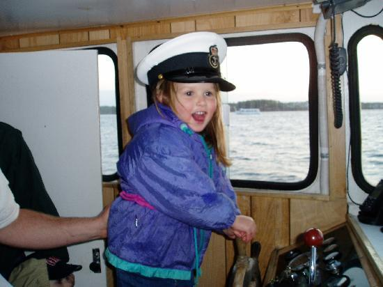Prince Edward Boat Tours: honorary captain