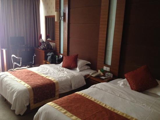 Yancheng Hotel : twin bed standard room