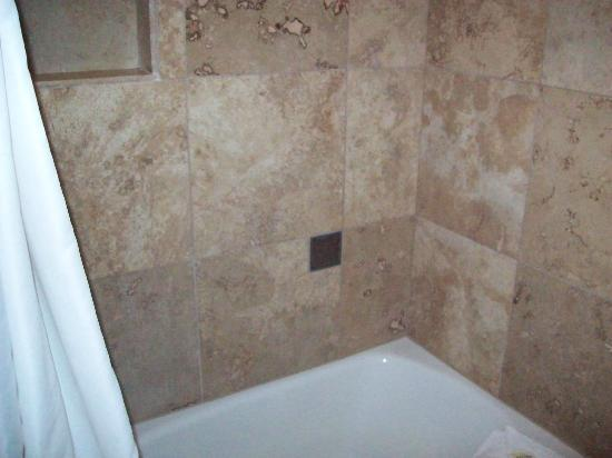 ‪تريجر ماونتن إن: tile in shower was very clean‬
