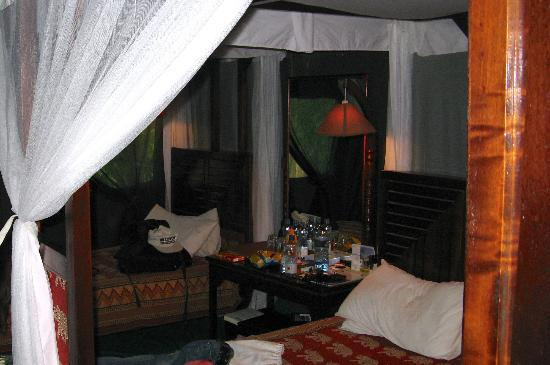 Fig Tree Camp: Our tented room