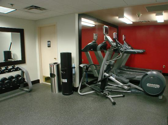 Hilton Garden Inn Albuquerque North/Rio Rancho: new equipment in work out room