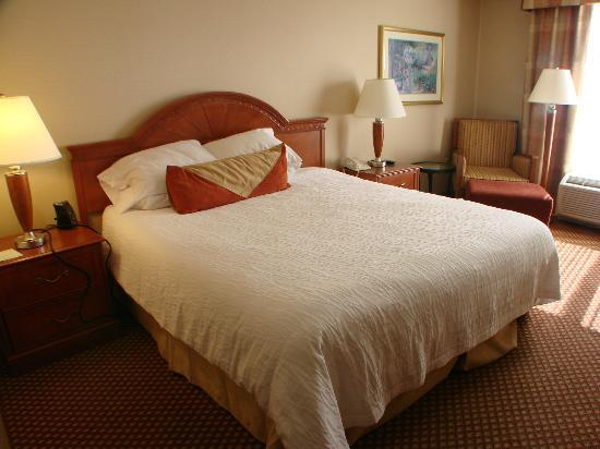Hilton Garden Inn Albuquerque North/Rio Rancho: comfortable bed