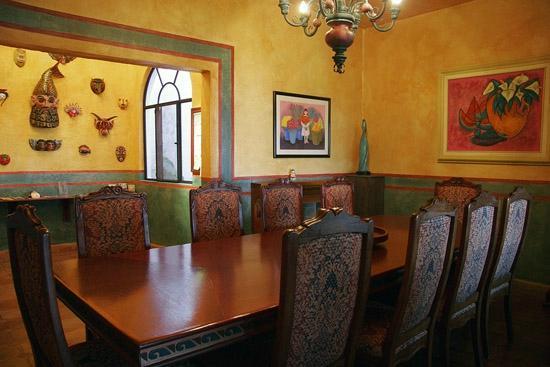 Casa Puesta Del Sol: Comedor
