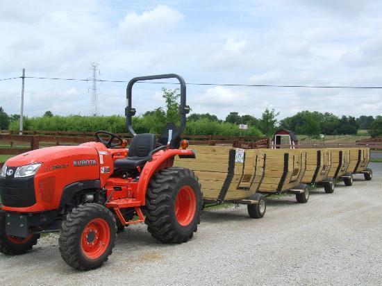 Huber's Orchard & Winery: Grain Train