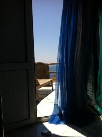 """Ventotene, Italia: dettaglio stanza """"grotta"""""""